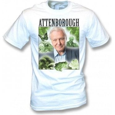 David Attenborough Collage T-Shirt