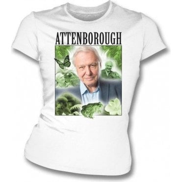 David Attenborough Womens Slim Fit T-Shirt