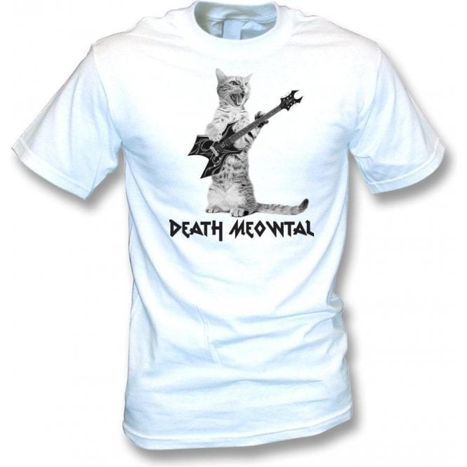 Death Meowtal Kids T-Shirt