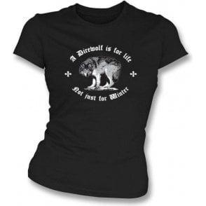 Direwolf Womens Slim Fit T-Shirt