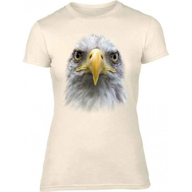 Eagle Head Womens Slim Fit T-Shirt