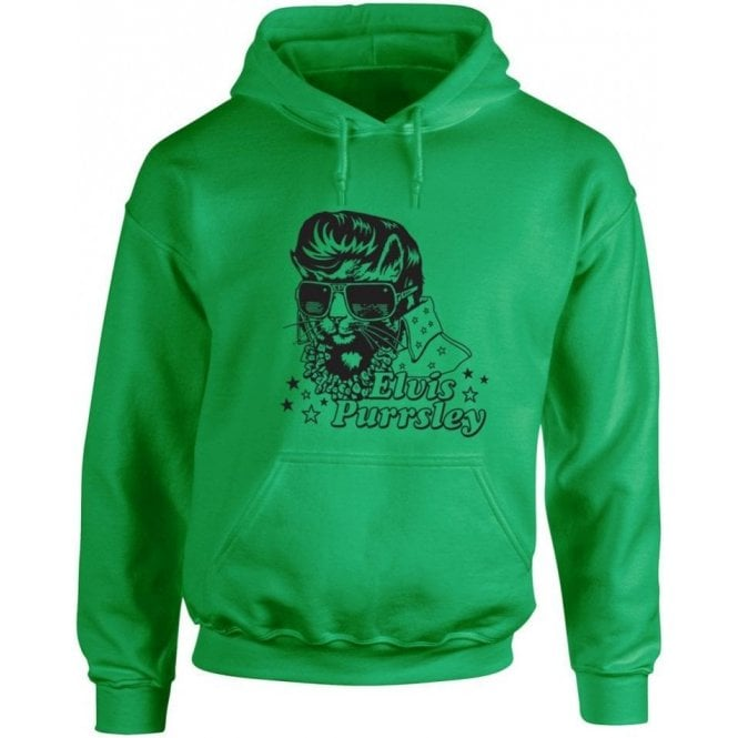 Elvis Purrsley Hooded Sweatshirt