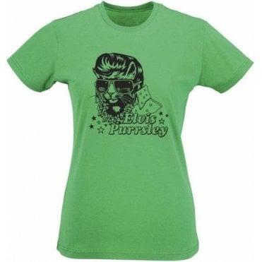 Elvis Purrsley Women's Slim Fit T-Shirt