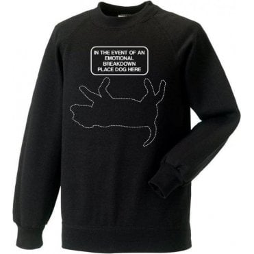 Emotional Breakdown Dog Sweatshirt