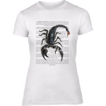 Emperor Scorpion Womens Slim Fit T-Shirt