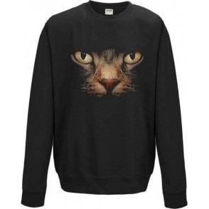Faded Cat Eyes Sweatshirt