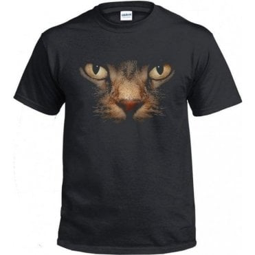 Faded Cat Eyes T-Shirt