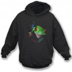 Faded Frog Kids Hooded Sweatshirt