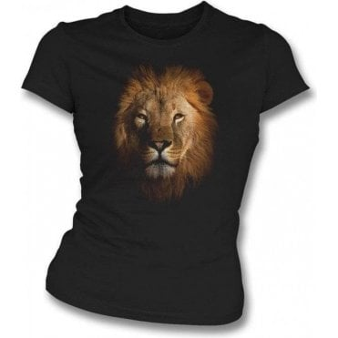 Faded Lion Womens Slim Fit T-Shirt
