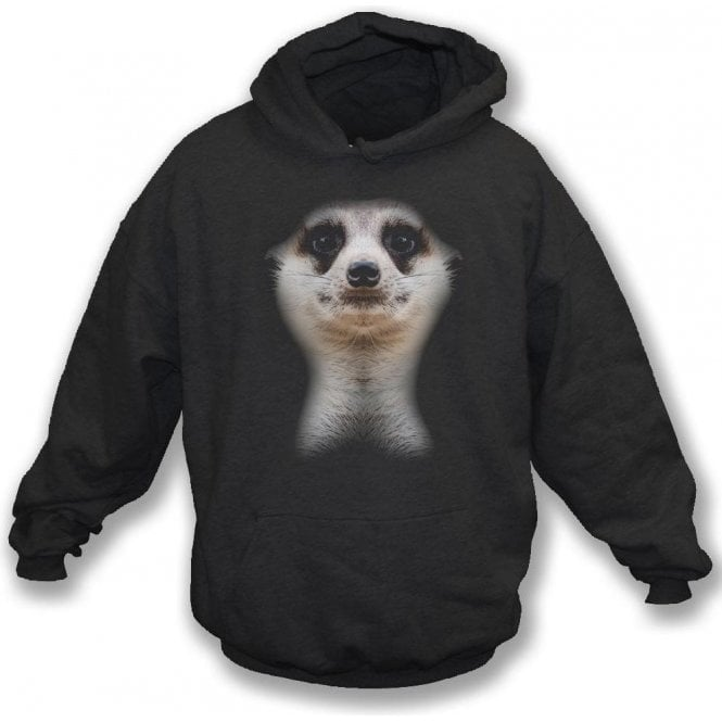 Faded Meerkat Hooded Sweatshirt