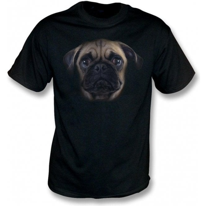 Faded Pug Kids T-Shirt