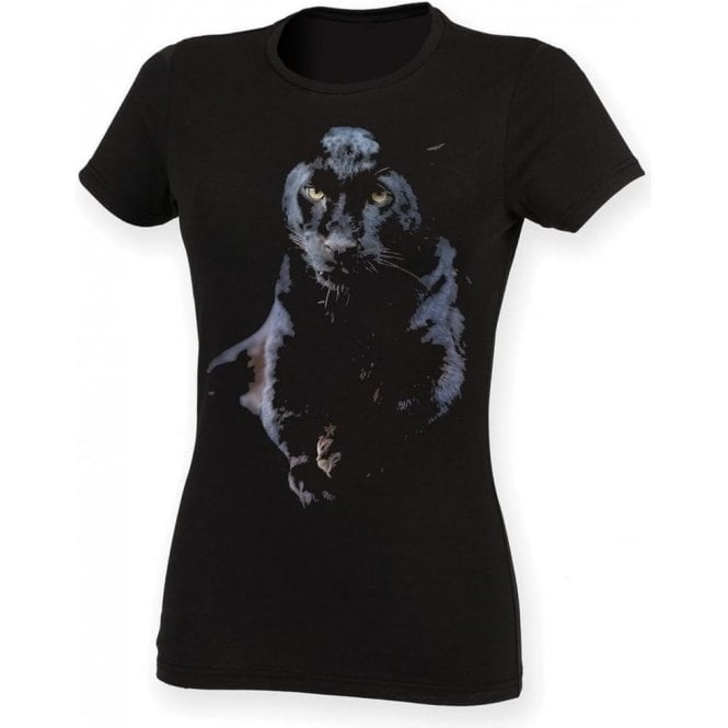 Faded Puma Womens Slim Fit T-Shirt