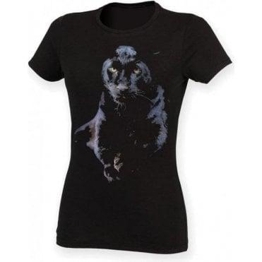 Faded Puma Womens Slim Fit T-Shirt