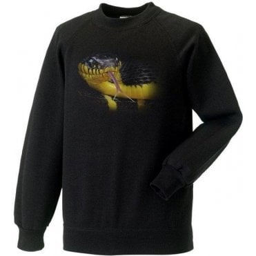 Faded Snake Kids Sweatshirt