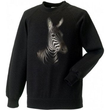 Faded Zebra Sweatshirt