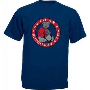 Fit As A Butcher's Dog Kids T-Shirt