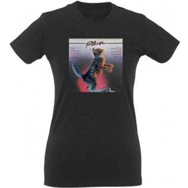 Footloose Kitty Women's Slim Fit T-Shirt