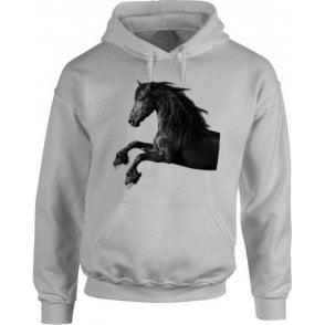 Galloping Horse Hooded Sweatshirt
