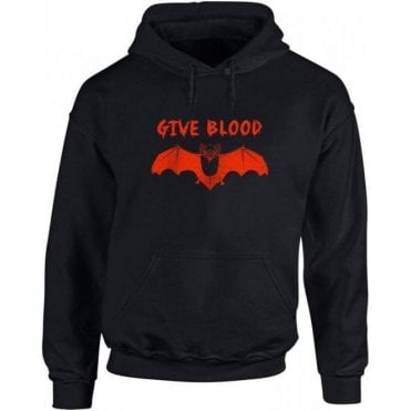 Give Blood Kids Hooded Sweatshirt