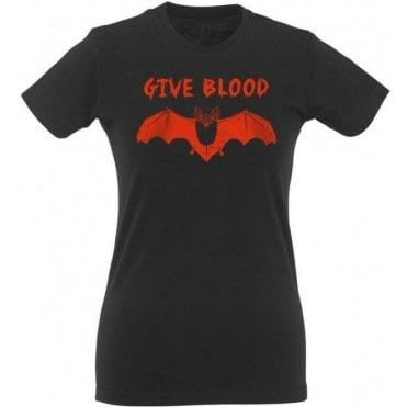 Give Blood Women's Slim Fit T-Shirt