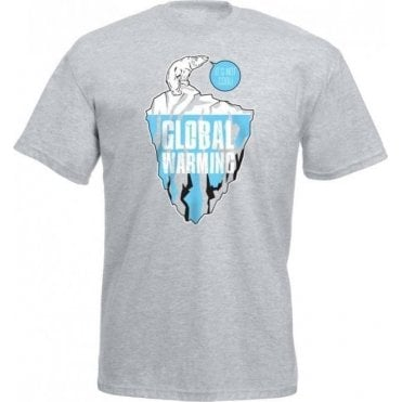 Global Warming Polar Bear Kids T-Shirt