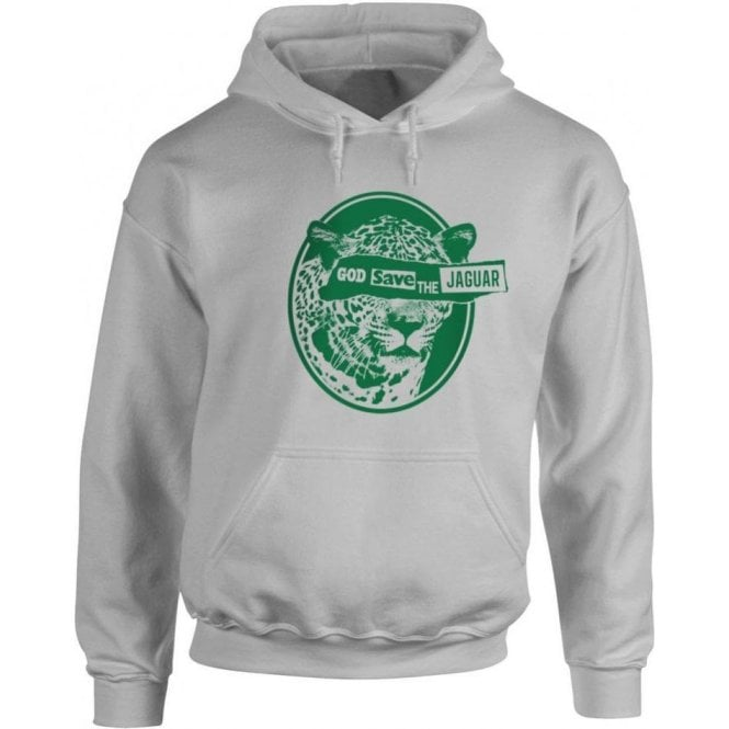 God Save The Jaguar Hooded Sweatshirt