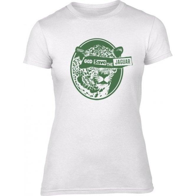 God Save The Jaguar Women's Slim Fit T-Shirt