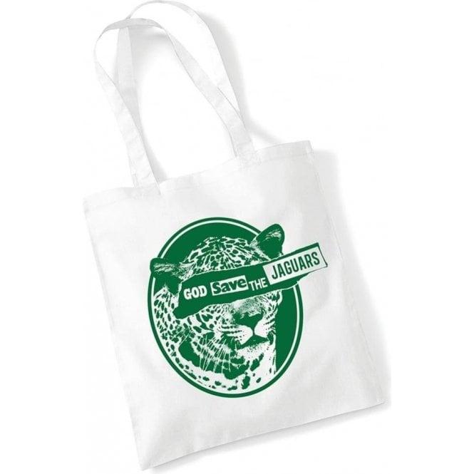 God Save The Jaguars Long Handled Tote Bag