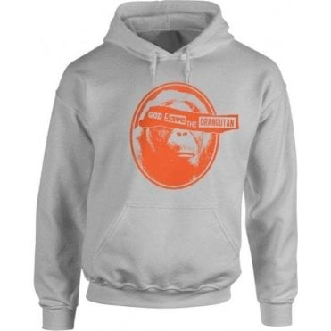 God Save The Orangutan Kids Hooded Sweatshirt