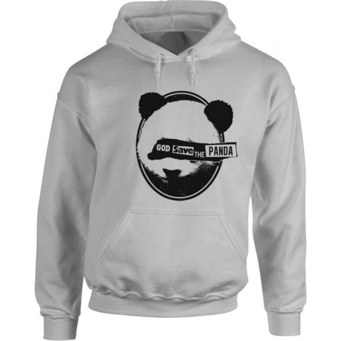God Save The Panda Hooded Sweatshirt