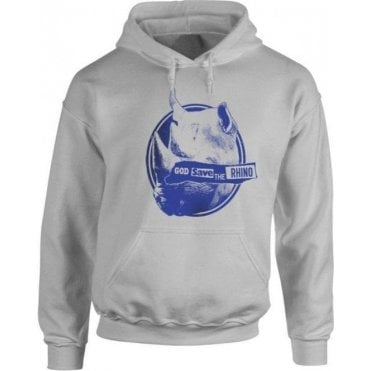 God Save The Rhino Hooded Sweatshirt