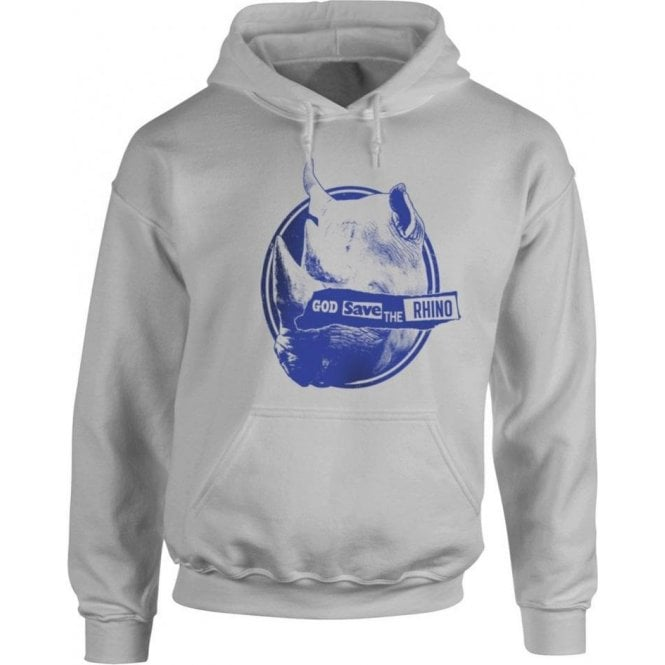 God Save The Rhino Kids Hooded Sweatshirt
