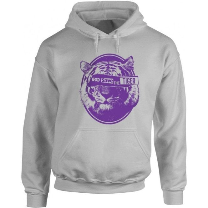 God Save The Tiger Hooded Sweatshirt