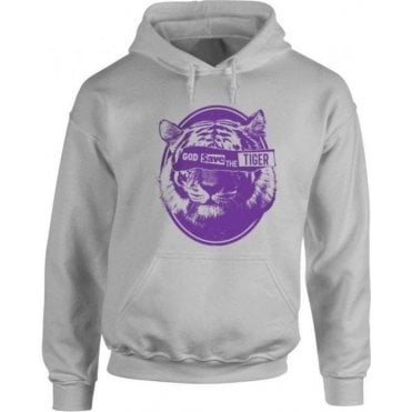 God Save The Tiger Kids Hooded Sweatshirt
