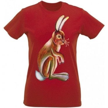 Hare (As Worn By Agnetha Faltskog, ABBA) Womens Slim Fit T-Shirt