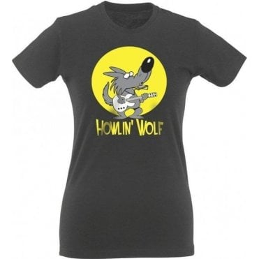 Howlin' Wolf Womens Slim Fit T-Shirt