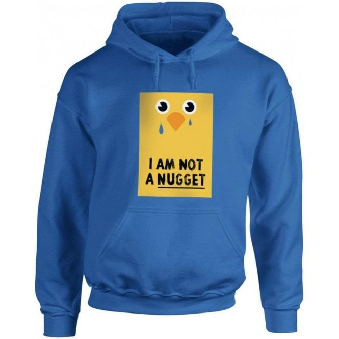 I Am Not A Nugget Kids Hooded Sweatshirt