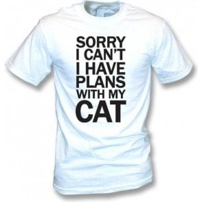 I Have Plans With My Cat Kids T-Shirt