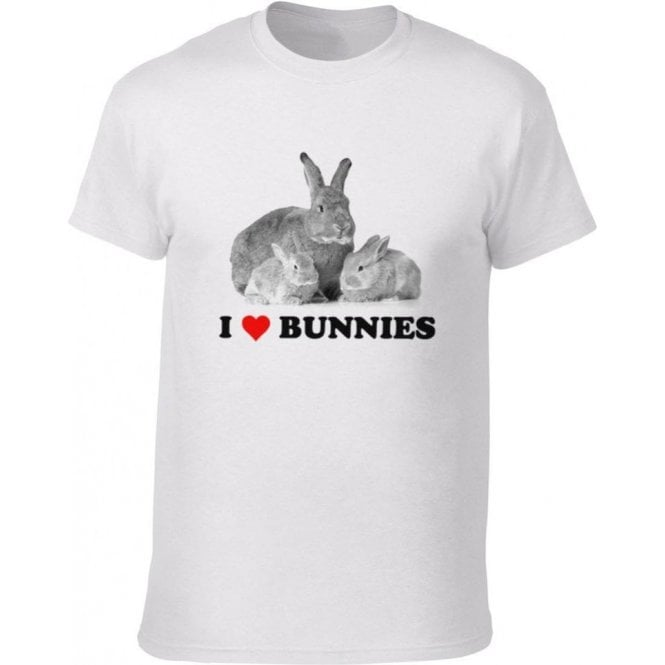 I Heart Bunnies Kids T-Shirt