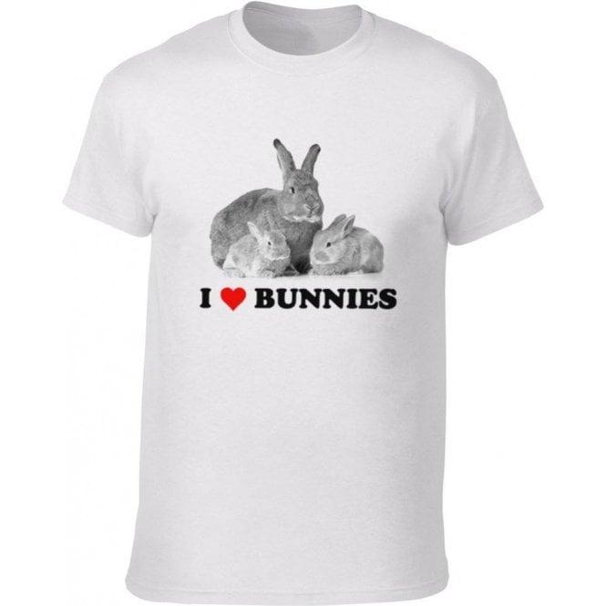 I Heart Bunnies Kids T-Shirt
