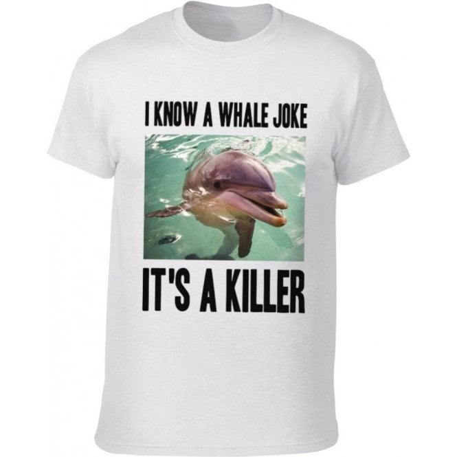 I Know A Whale Joke Kids T-Shirt