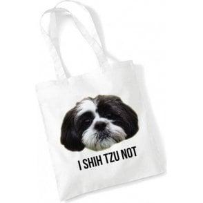 I Shih Tzu Not Long Handled Tote Bag