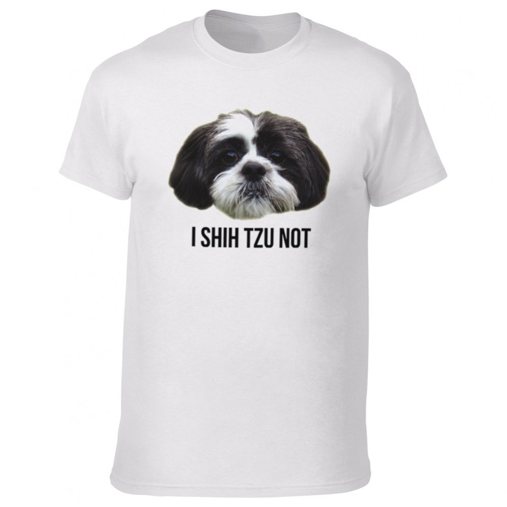 i shih tzu not shirt i shih tzu not t shirt from animals yeah yeah uk 4344