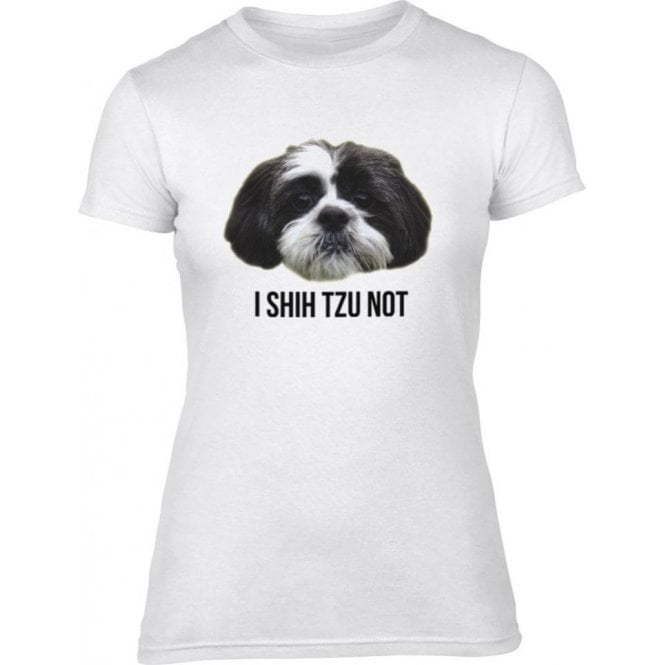 I Shih Tzu Not Women's Slim Fit T-Shirt