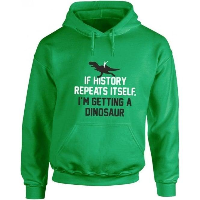 If History Repeats Itself... Kids Hooded Sweatshirt