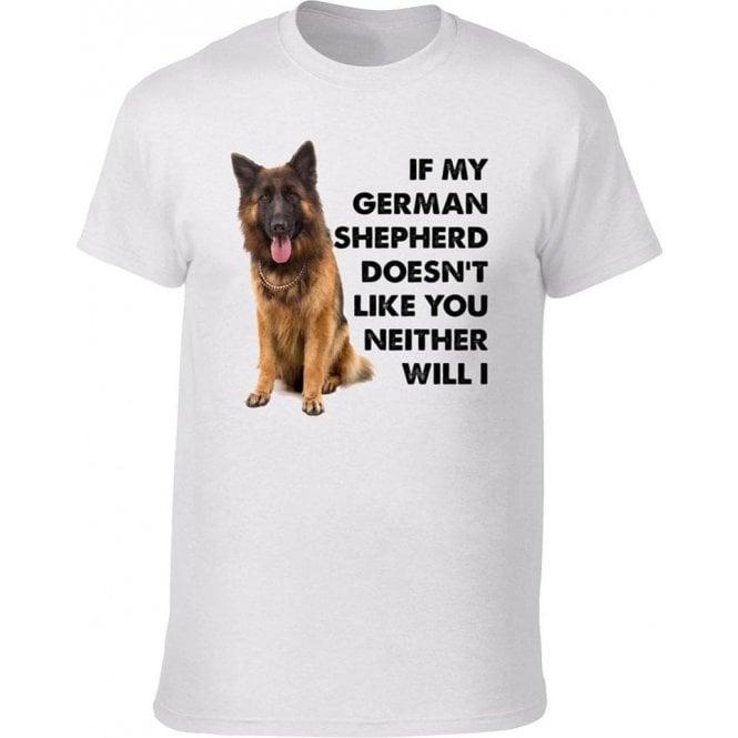 If My German Shepherd Doesn't Like You... Kids T-Shirt
