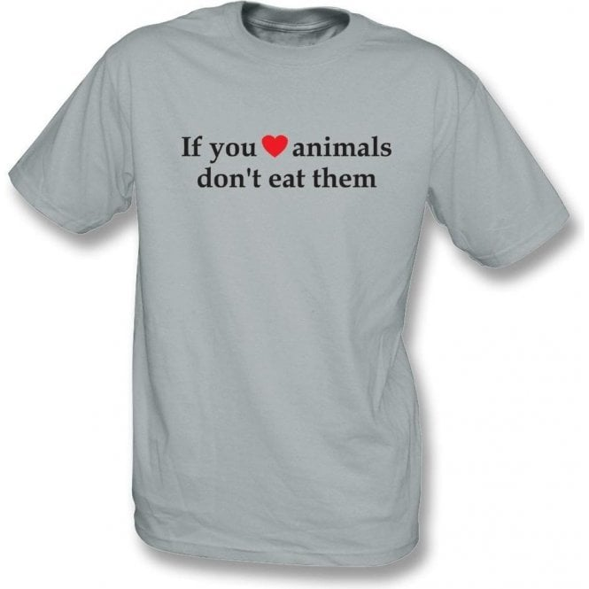 If You Heart Animals, Don't Eat Them Kids T-Shirt