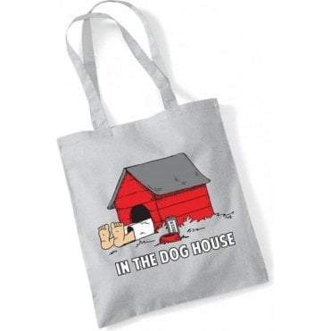 In The Dog House Long Handled Tote Bag