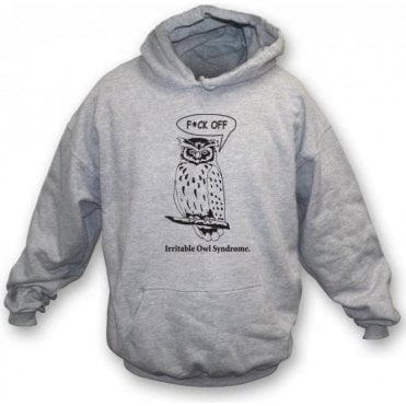 Irritable Owl Syndrome Hooded Sweatshirt
