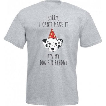 It's My Dog's Birthday (Dalmatian) Kids T-Shirt